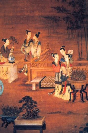 نقاشی بونسای